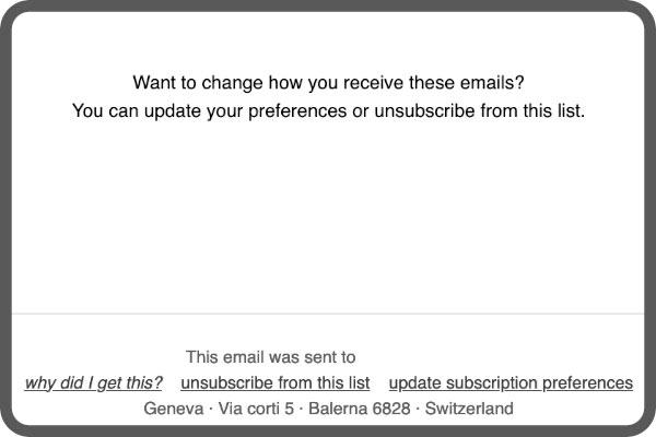 E-Mail Einstellungen Newsletter